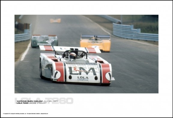 LOLA T260 JACKIE STEWART – WATKINS GLEN CAN-AM JULY 25, 1971