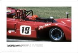 MCLAREN M8E GARY WILSON - ROAD AMERICA CAN-AM AUGUST 27, 1972