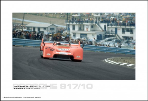 PORSCHE 917/10 JO SIFFERT – WATKINS GLEN CAN-AM JULY 23, 1971