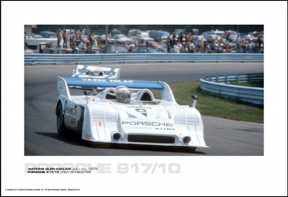 PORSCHE 917/10 JODY SCHECKTER – WATKINS GLEN CAN-AM JULY 22, 1973