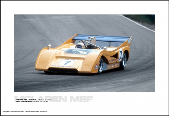 MCLAREN M8F PETER REVSON – MOSPORT CAN-AM JUNE 13, 1971