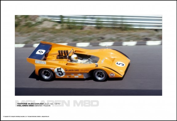 MCLAREN M8D DENNIS HULME – WATKINS GLEN CAN-AM JULY 12, 1970