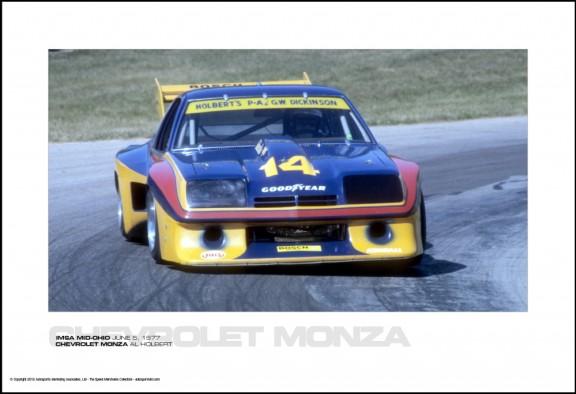 CHEVROLET MONZA AL HOLBERT – IMSA MID-OHIO JUNE 5, 1977