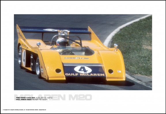 MCLAREN M20 PETER REVSON – MID-OHIO CAN-AM AUGUST 6, 1972