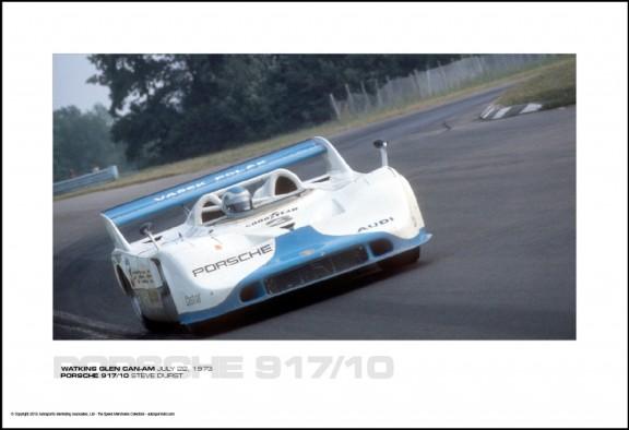 PORSCHE 917/10 STEVE DURST – WATKINS GLEN CAN-AM JULY 22, 1973