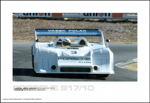 PORSCHE 917/10 BRIAN REDMAN – LAGUNA SECA CAN-AM OCTOBER 14, 1973