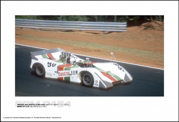 BRM P154 GEORGE EATON – ROAD ATLANTA CAN-AM SEPTEMBER 13, 1970