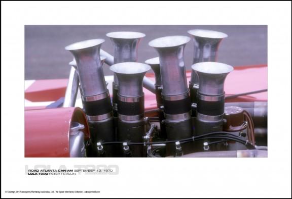 LOLA T220 PETER REVSON – ROAD ATLANTA CAN-AM SEPTEMBER 13, 1970