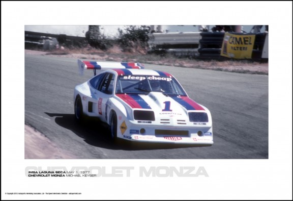 CHEVROLET MONZA MICHAEL KEYSER – IMSA LAGUNA SECA MAY 1, 1977