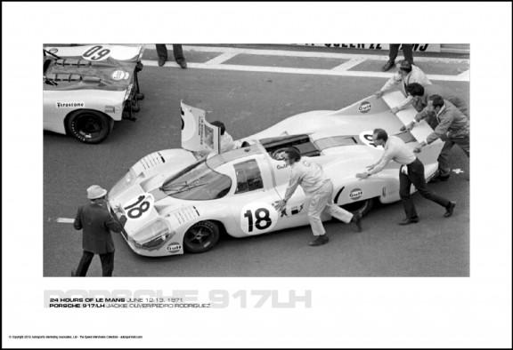 PORSCHE 917/LH JACKIE OLIVER/PEDRO RODRIGUEZ – 24 HOURS OF LE MANS JUNE 12-13, 1971