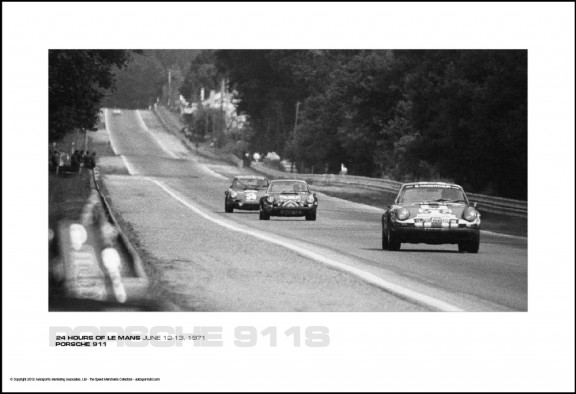 PORSCHE 911 – 24 HOURS OF LE MANS JUNE 12-13, 1971