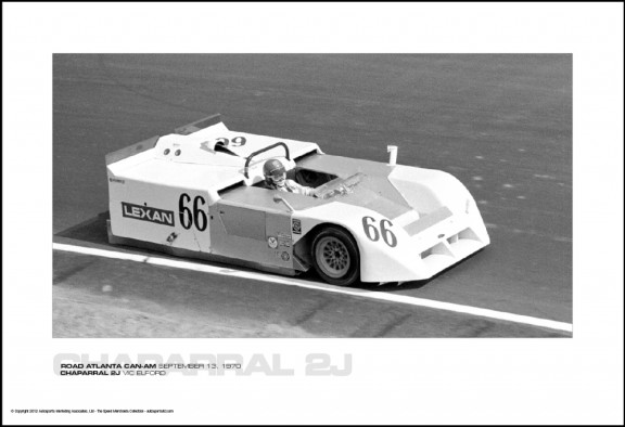 CHAPARRAL 2J VIC ELFORD – ROAD ATLANTA CAN-AM SEPTEMBER 13, 1970