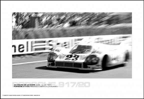 PORSCHE 917/20 REINHOLD JOEST/WILLI KAUHSEN – 24 HOURS OF LE MANS JUNE 12-13, 1971