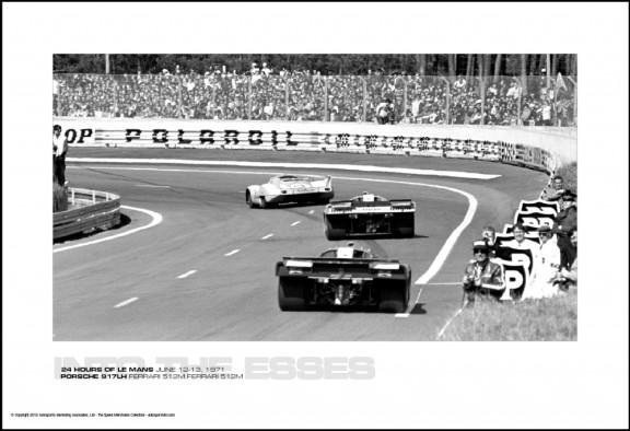 PORSCHE 917LH FERRARI 512M FERRARI 512M – 24 HOURS OF LE MANS JUNE 12-13, 1971