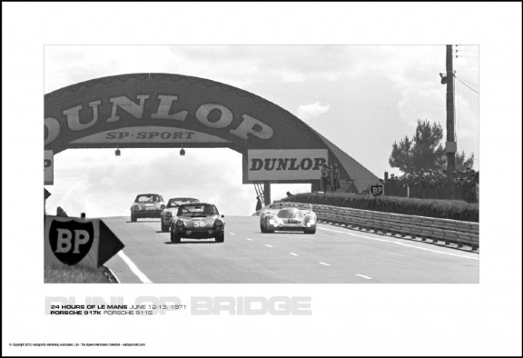 PORSCHE 917K PORSCHE 911S – 24 HOURS OF LE MANS JUNE 12-13, 1971