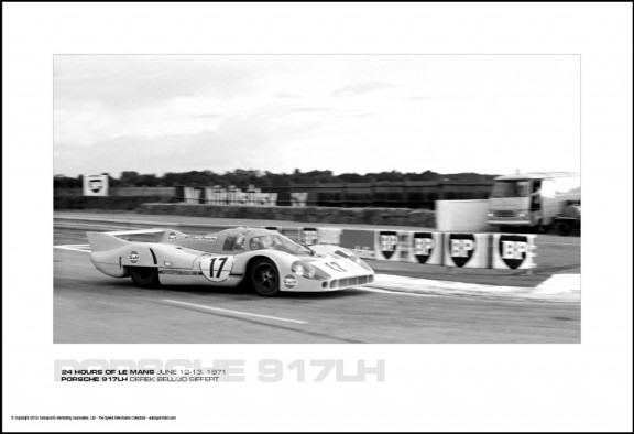 PORSCHE 917LH DEREK BELL/JO SIFFERT – 24 HOURS OF LE MANS JUNE 12-13, 1971