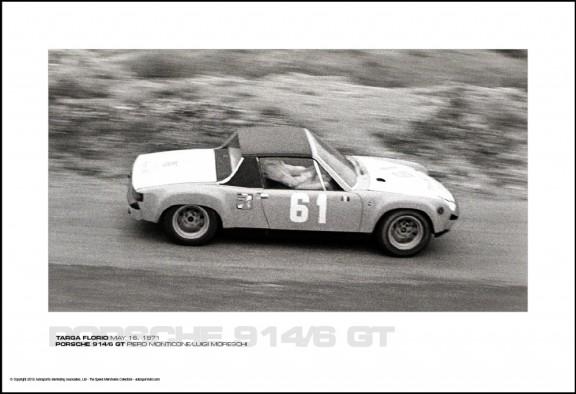 PORSCHE 914/6 GT PIERO MONTICONE/LUIGI MORESCHI – TARGA FLORIO MAY 16, 1971