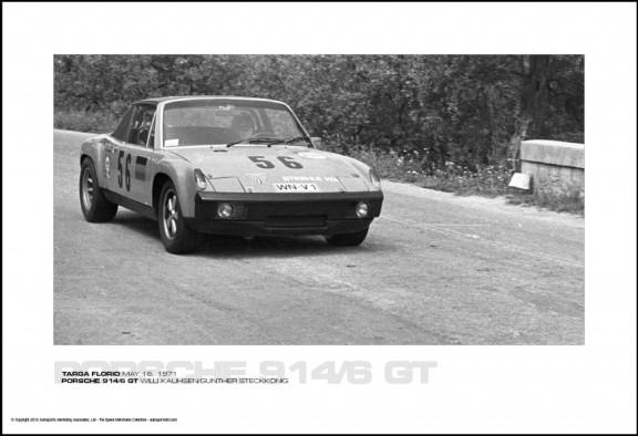 PORSCHE 914/6 GT WILLI KAUHSEN/GUNTHER STECKK