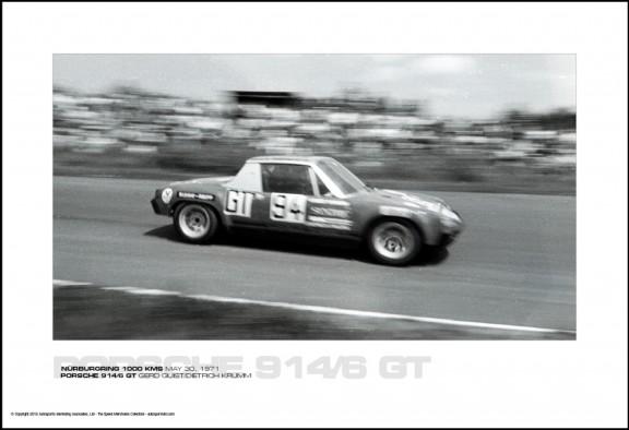 PORSCHE 914/6 GT GERD QUIST/DIETRICH KRUMM – N