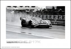 PORSCHE 917K RICHARD ATTWOOD/HANS HERRMANN - 24 HOURS OF LE MANS JUNE 13-14, 1970