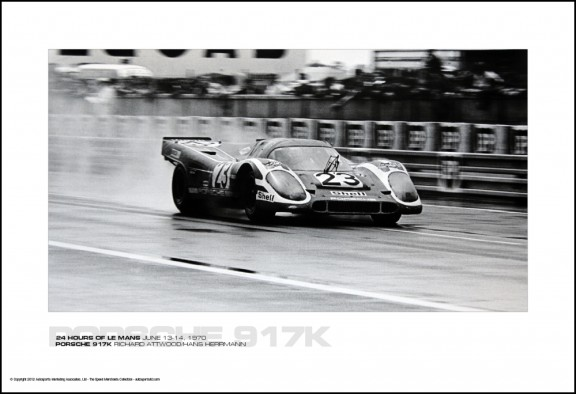 PORSCHE 917K RICHARD ATTWOOD/HANS HERRMANN – 24 HOURS OF LE MANS JUNE 13-14, 1970