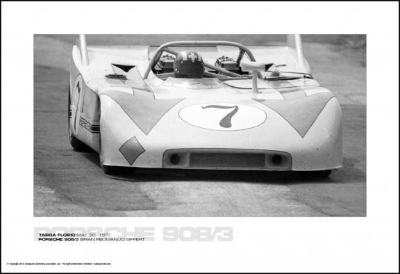 PORSCHE 908/3 BRIAN REDMAN/JO SIFFERT – TARGA FLORIO MAY 30, 1971