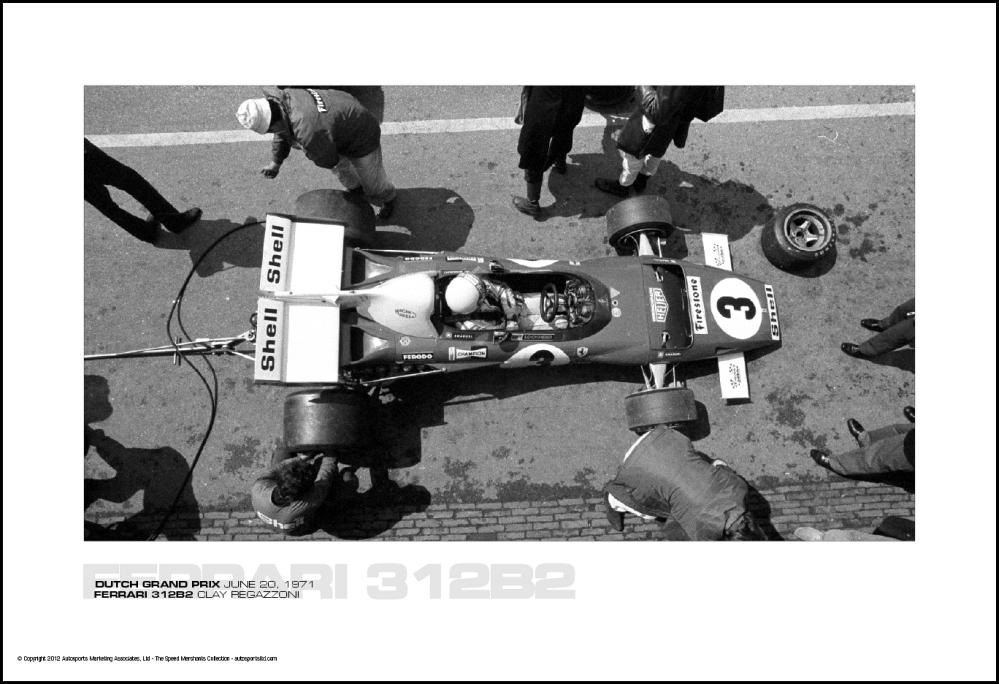 Ferrari 312b2 Clay Regazzoni Dutch Grand Prix June 20