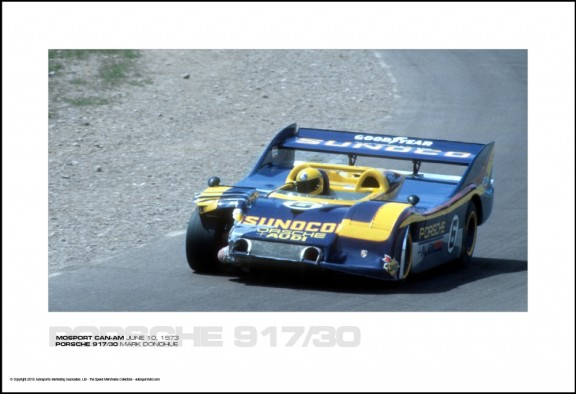 PORSCHE 917/30 MARK DONOHUE – MOSPORT CAN-AM JUNE 10, 1973