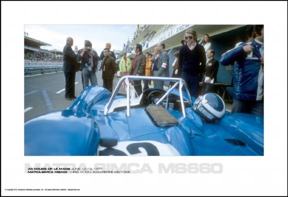 MATRA-SIMCA MS660 CHRIS AMON/JEAN-PIERRE BELTOISE – 24 HOURS OF LE MANS JUNE 12-13, 1971