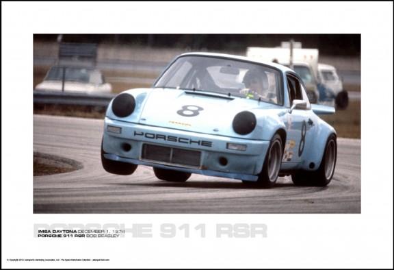 PORSCHE 911 RSR BOB BEASLEY – IMSA DAYTONA DECEMBER 1, 1974