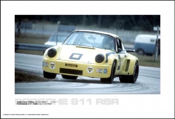 PORSCHE 911 RSR MILT MINTER – IMSA DAYTONA DECEMBER 1, 1974