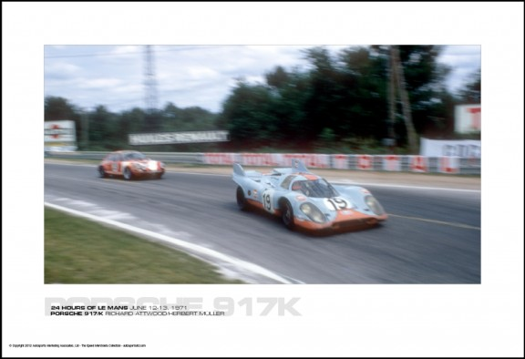 PORSCHE 917/K RICHARD ATTWOOD/HERBERT M