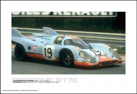 PORSCHE 917K RICHARD ATTWOOD/HERBERT M