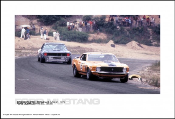 FORD MUSTANG PARNELLI JONES – BRIDGEHAMPTON TRANS-AM JUNE 21, 1970