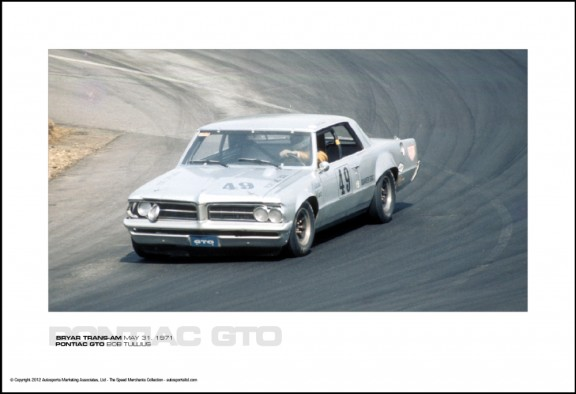 PONTIAC GTO BOB TULLIUS – BRYAR TRANS-AM MAY 31, 1971