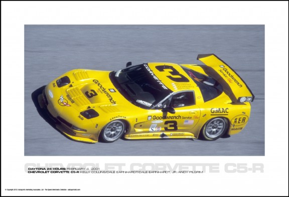 CHEVROLET CORVETTE C5-R KELLY COLLINS/DALE EARNHARDT/DALE EARNHARDT, JR