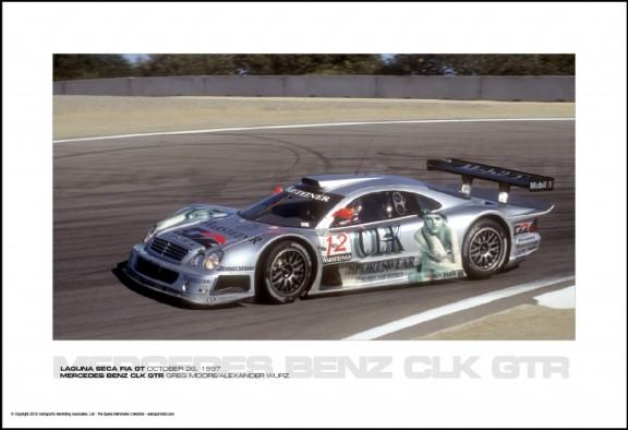MERCEDES BENZ CLK GTR GREG MOORE/ALEXANDER WURZ – LAGUNA SECA FIA GT OCTOBER 26, 1997
