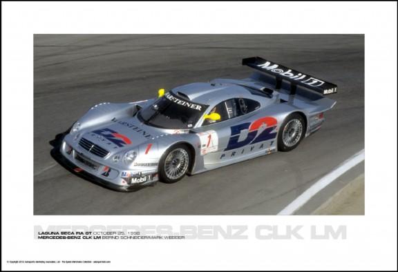 MERCEDES-BENZ CLK LM BERND SCHNEIDER/MARK WEBBER – LAGUNA SECA FIA GT OCTOBER 25, 1998