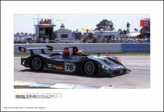 AUDI R8R BIELLA/MCCARTHY/PIRRO – SEBRING 12 HOURS MARCH 20, 1999