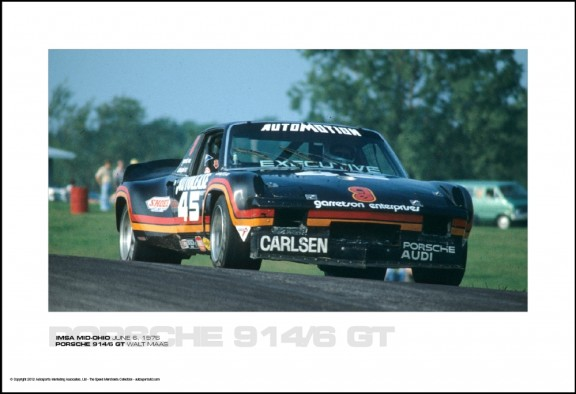 PORSCHE 914/6 GT WALT MAAS – IMSA MID-OHIO JUNE 6, 1976