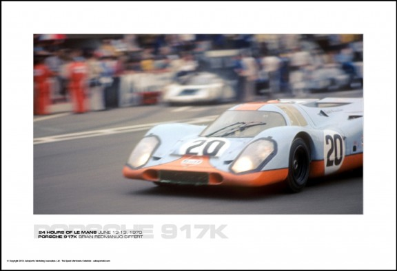 PORSCHE 917K BRIAN REDMAN/JO SIFFERT – 24 HOURS OF LE MANS JUNE 13-13, 1970