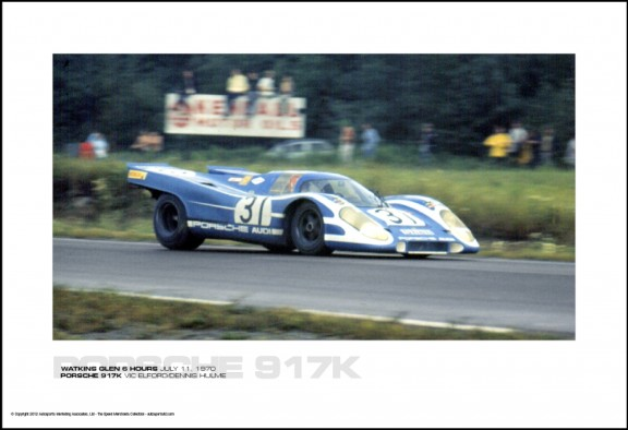 PORSCHE 917K VIC ELFORD/DENNIS HULME – WATKINS GLEN 6 HOURS JULY 11, 1970