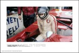 FERRARI 312PB JACKY ICKX/CLAY REGAZZONI - MONZA 1000 KMS APRIL 25, 1971