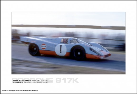 PORSCHE 917K BRIAN REDMAN/JO SIFFERT - DAYTONA 24 HOURS FEBRUARY 1-2, 1970