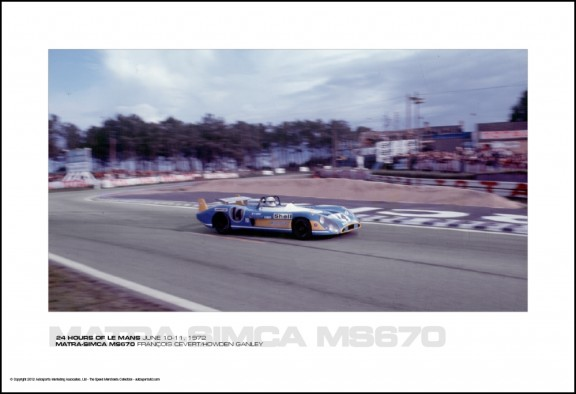 MATRA-SIMCA MS670 FRAN