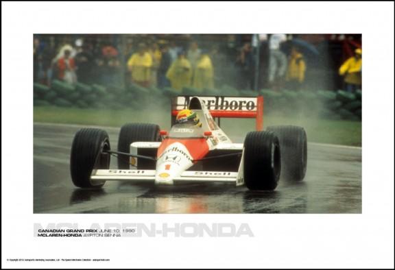 MCLAREN-HONDA AYRTON SENNA – CANADIAN GRAND PRIX JUNE 10, 1990