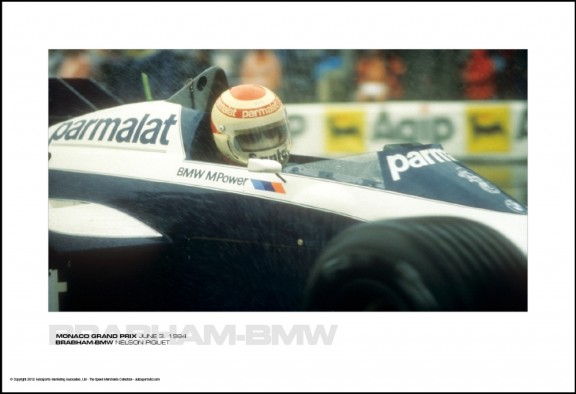 BRABHAM-BMW NELSON PIQUET – MONACO GRAND PRIX JUNE 3, 1984