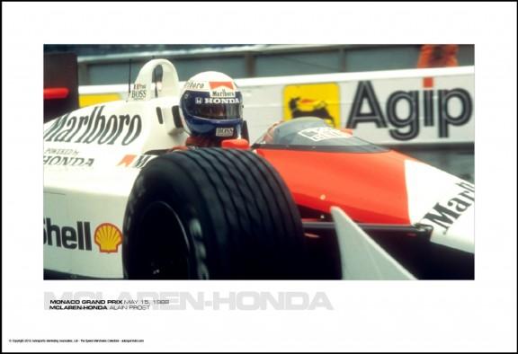 MCLAREN-HONDA ALAIN PROST – MONACO GRAND PRIX MAY 15, 1988