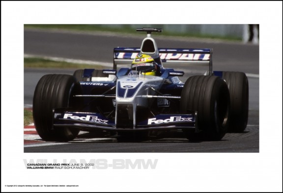 WILLIAMS-BMW RALF SCHUMACHER – CANADIAN GRAND PRIX JUNE 9, 2002