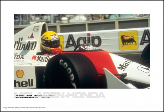 MCLAREN-HONDA AYRTON SENNA – MONACO GRAND PRIX MAY 15, 1988